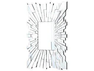 Empire Rectangle Wall Mirror, , large