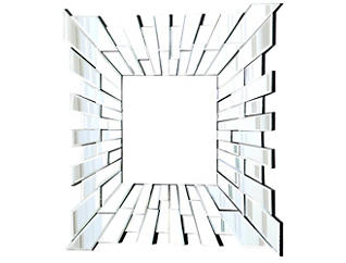Empire Square Wall Mirror, , large