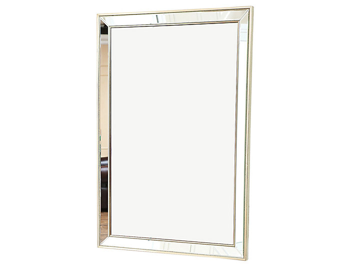 Areil Rectangle Wall Mirror, , large