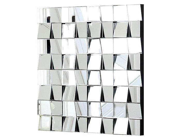 Isabella Square Wall Mirror, , large