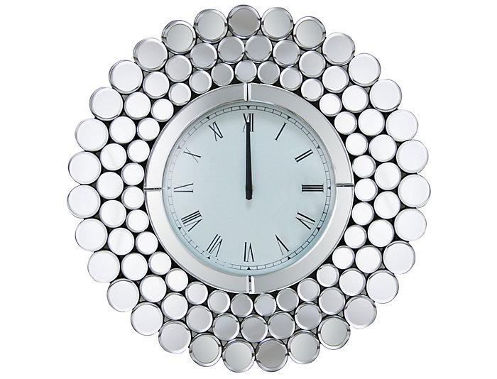 Radiance Round Mirror Clock, , large