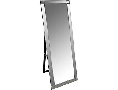 Monaveen Silver Floor Mirror, , large