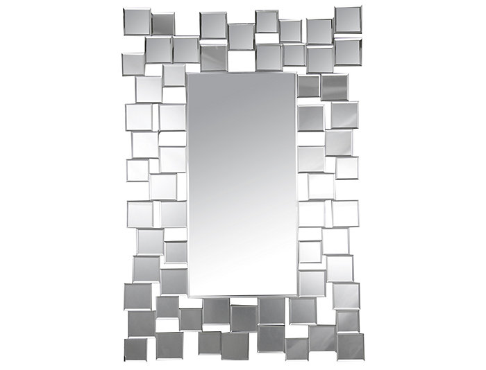 Aiden Rectangle Wall Mirror, , large