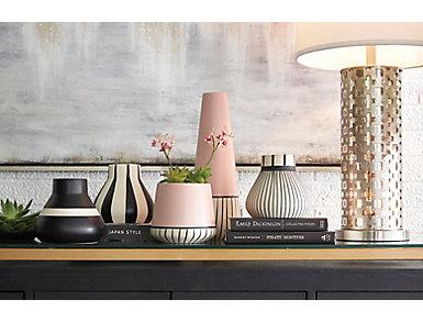 Tribeca Vase, Thin Stripes, , large