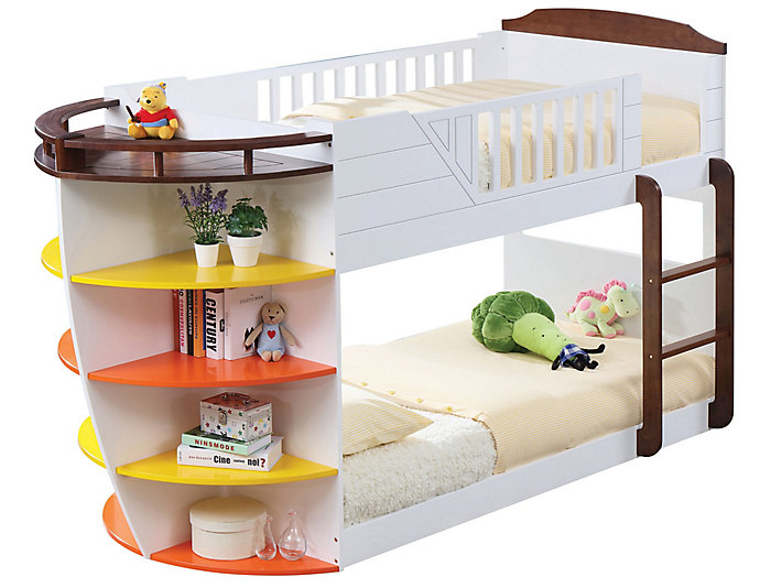 Neptune Storage Twin Bunk Bed, , large