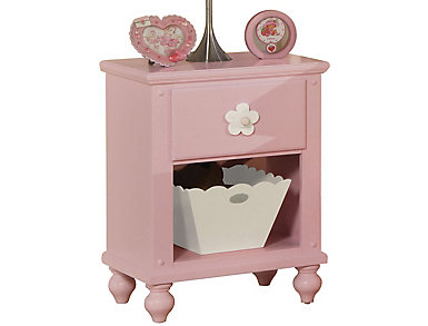 Floresville Pink Nightstand, , large