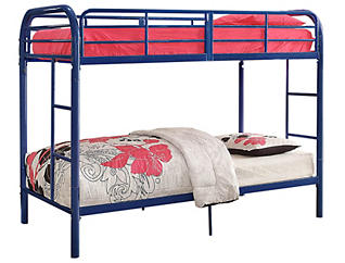 Thomas Blue Twin Bunk Bed, , large