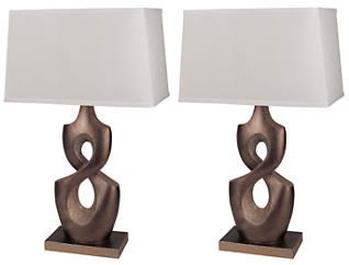 Montbelle Table Lamp Set of 2, , large