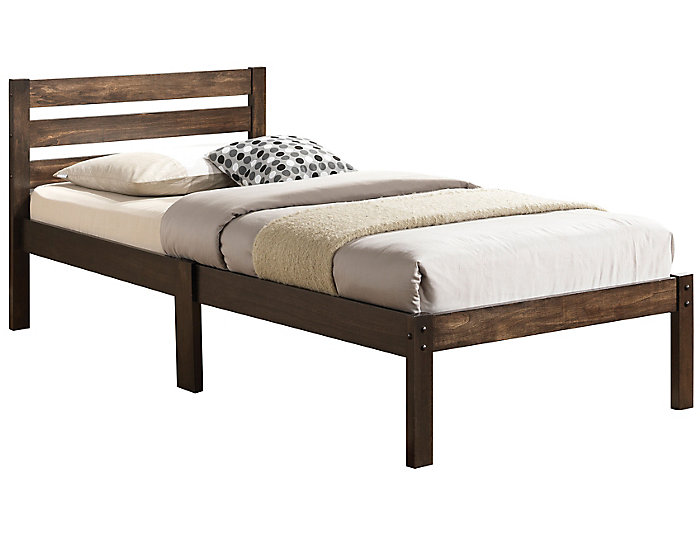 Donato Ash Brown Twin Bed, , large