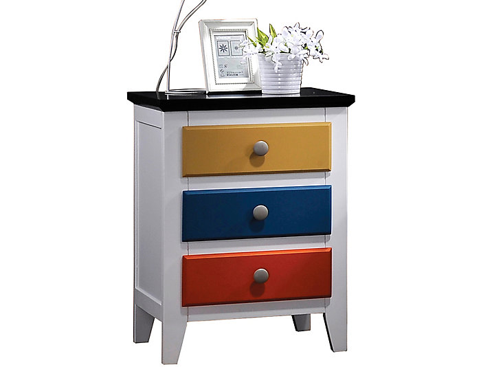 Brooklet Multicolor Nightstand, , large
