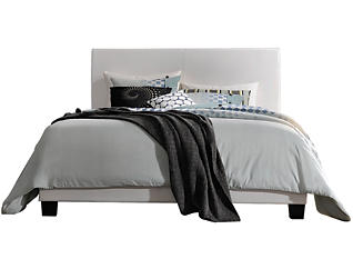 Lien White Twin Bed, , large