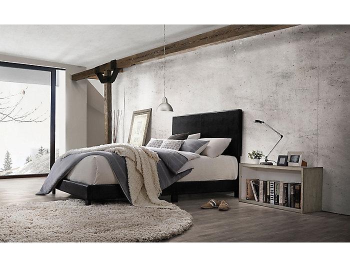 Lien Black Twin Bed, , large