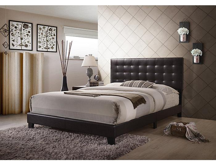 Masate Espresso Queen Bed, , large