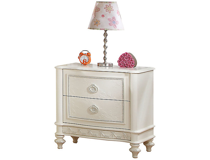 Dorothy 2 Drawer Nightstand, , large
