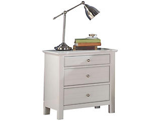 Mallowsea White Nightstand, , large