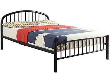 Cailyn Black Twin Bed, , large