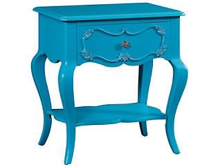 Edalene Turquoise Nightstand, , large