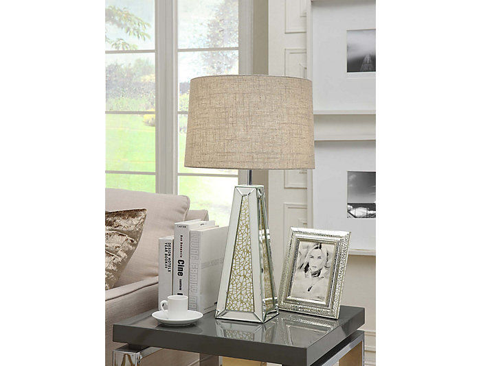 Brant Mirrored Table Lamp, , large