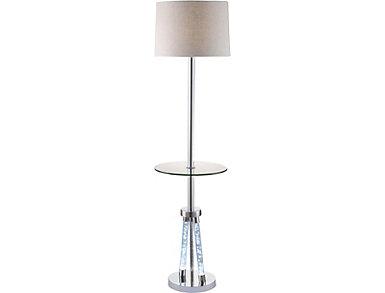 Allegan Chrome Floor Lamp, , large