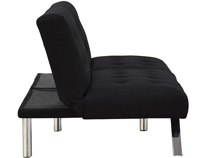 Bishop Adjustable Sofa, Black, Black, large