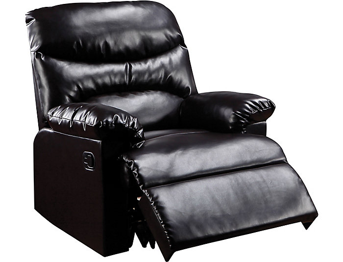 Monza Leather Recliner, Mocha Brown, , large