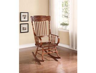 Mia Tobacco Rocking Chair, , large