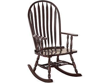 Mia Cappuccino Rocking Chair, , large