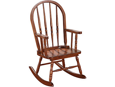 Mia Round Youth Rocking Chair, , large