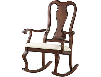 Nyla Wooden Rocker, , large