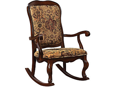 Cady Cherry Rocking Chair, , large