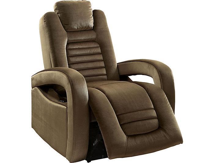 Pleasant Palmer Brown Velvet Recliner Art Van Home Ibusinesslaw Wood Chair Design Ideas Ibusinesslaworg