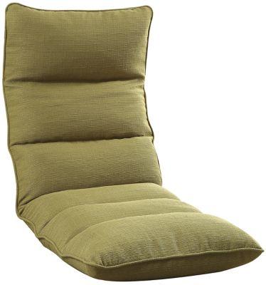 Morris Floor Chair, Green, swatch