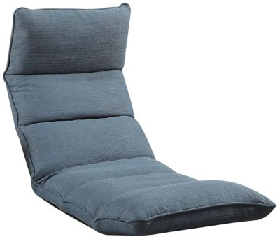 Morris Floor Chair, Blue, swatch