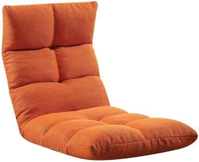 Morris Floor Chair, Orange, swatch