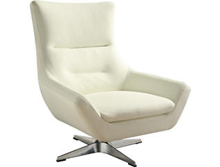 Starla Accent Chair, White, , large