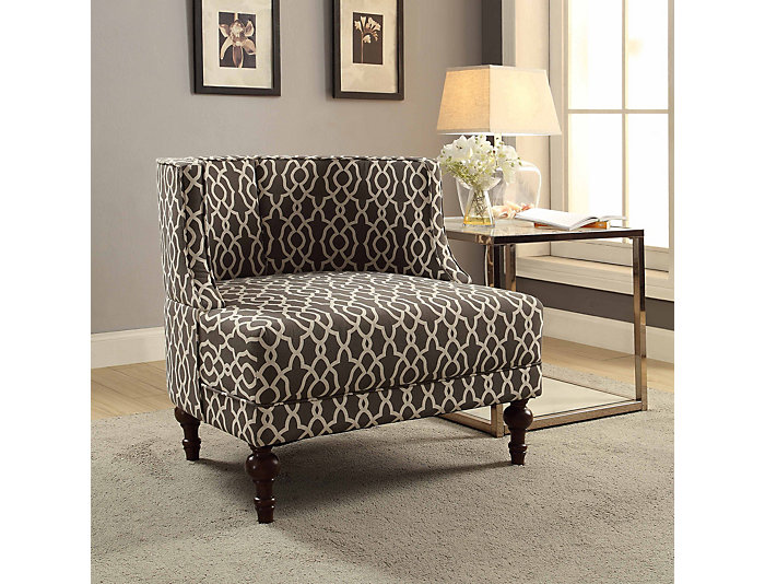 Kodiak Taupe Accent Chair, , large