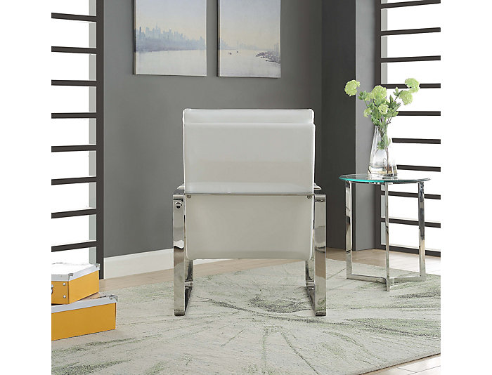 Cool Lucida Accent Chair White Creativecarmelina Interior Chair Design Creativecarmelinacom
