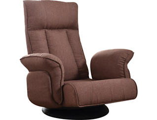 Wilfred Game Chair, Chocolate Brown, , large