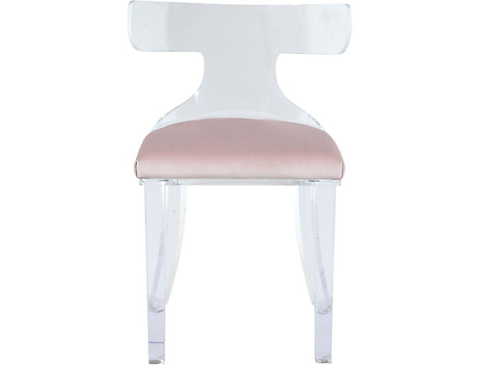 Kenji Blush Velvet Chair, , large