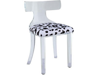 Kenji Black & White Chair, , large