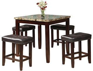 Trevin 5 Piece Counter Set, , large