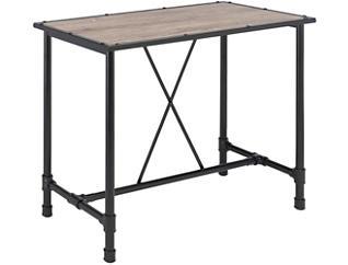 Dino Rustic Oak Bar Table, , large