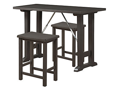 Mitzi 3 Piece Grey Oak Set, , large