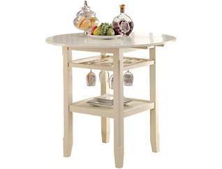 Donta Cream Counter Table, , large