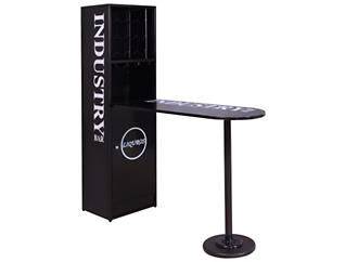 Mant Bar Table with Cabinet, , large