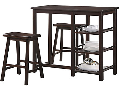 Fawn Walnut 3 Piece Set, , large