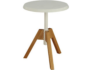 Kase End Table, White, , large