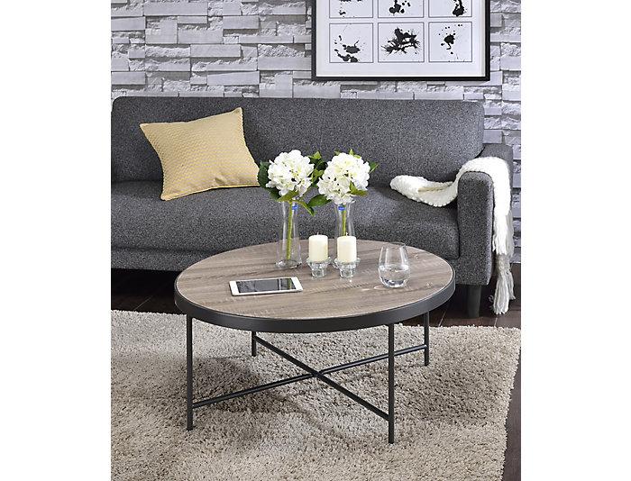 Bage Coffee Table, Grey Oak, , large