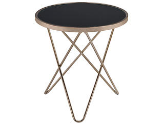 Valora End Table, Gold, , large