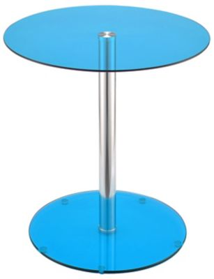Halley End Table, Blue, swatch